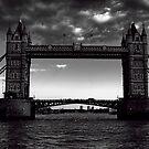 Tower Bridge B&W by Dean Messenger
