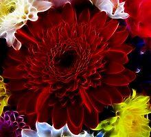 Flower Fractal by nixworries