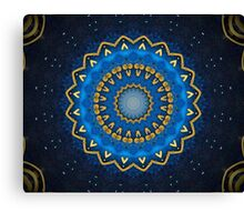 Science Fiction Abstract Pattern 1 Canvas Print