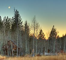 Winter Cabin by Dory Breaux