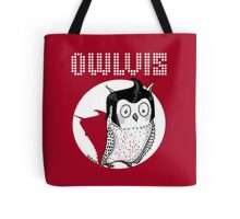 Owlvis - Owl Illustration  Tote Bag