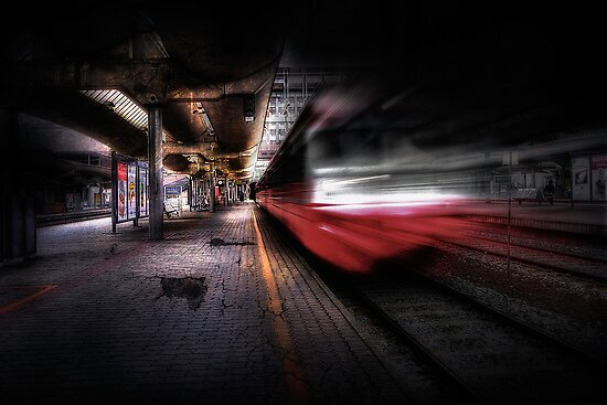 Grunge Art Part III - Runaway Train by Erik Brede