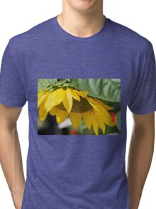 sunflower in the garden Tri-blend T-Shirt