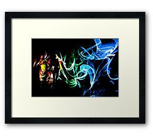 Projection Art Framed Print