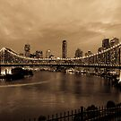 Story Bridge in Sepia by 