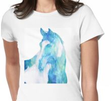 Pinto Horse Womens Fitted T-Shirt