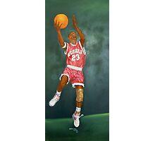 Basketball Player Photographic Print