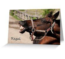 Regal - NNEP Ottawa, ON Greeting Card
