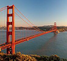 Golden Gate Bridge by Francesco Carucci