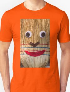 Stuffed man  with broom Unisex T-Shirt