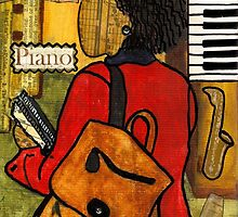 The Piano Lady by © Angela L Walker