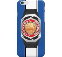 MMPR Blue Ranger Morpher/Buckle Phone Case iPhone Case/Skin