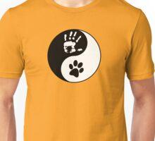 Dog Love - Ying & Yang Unisex T-Shirt