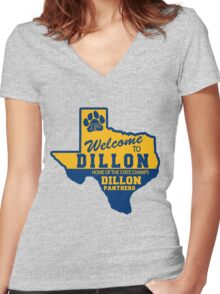 Welcome To Dillon! Women's Fitted V-Neck T-Shirt