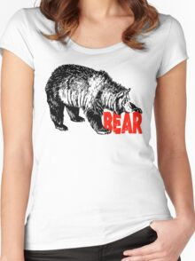 BEAR CUB CLUB Women's Fitted Scoop T-Shirt