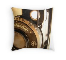 Voigtlander Throw Pillow