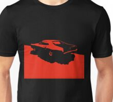 Mercury Marauder,  1969 - Red on black Unisex T-Shirt