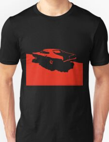 Mercury Marauder,  1969 - Red on black T-Shirt