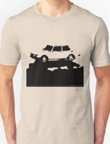 Saab 99 EMS,  1974 - Black on cream T-Shirt