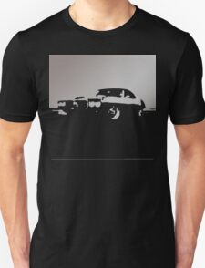 Pontiac Firebird, 1969 - Gray on black T-Shirt