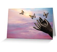 Spread your wings and fly Greeting Card