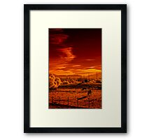 The Last Place on Earth and the Greed that Threatens It Framed Print