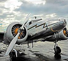 Lockheed 12a Electra Jr. by Rod Reilly