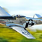 P-51 low pass by Rod Reilly