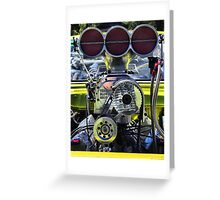 Super Charged !!! Greeting Card