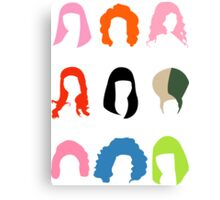 Nicki's Hair Canvas Print