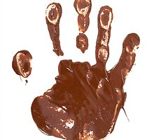 Chocolate hand print by SeDmi