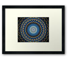 Science Fiction Abstract Pattern 2 Framed Print