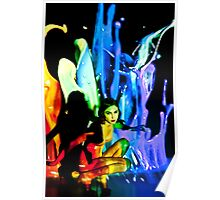 Projection Art Poster