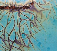 Turquoise Crack by Evelyn Berg