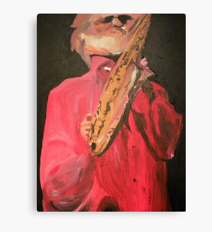 Sonny Rollins-Painting Canvas Print