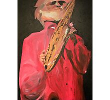 Sonny Rollins-Painting Photographic Print