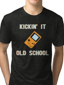 Kickin' It Old School Tri-blend T-Shirt