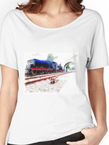 Steam locomotive Women's Relaxed Fit T-Shirt