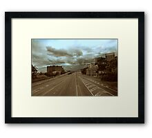 Empty Bridge Framed Print
