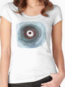 The Eye of the Storm Women's Fitted Scoop T-Shirt