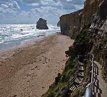 Gibsons Steps and Beach by paul erwin