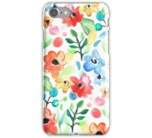 Flourish - Watercolor Floral iPhone Case/Skin
