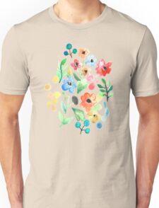 Flourish - Watercolor Floral Unisex T-Shirt