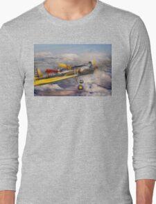 Flying Pig - Plane -The joy ride Long Sleeve T-Shirt