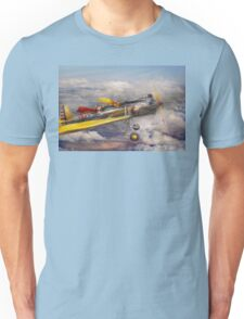 Flying Pig - Plane -The joy ride Unisex T-Shirt