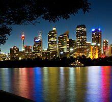 Sydney Skyline by Dev Wijewardane
