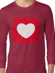 Love Heart T-shirt Long Sleeve T-Shirt