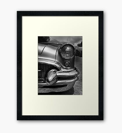 The Buick Framed Print