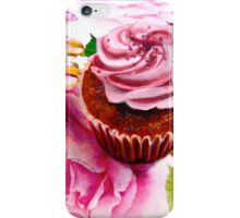 Cupcakes and Roses iPhone Case/Skin