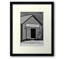 Glenorchy Framed Print